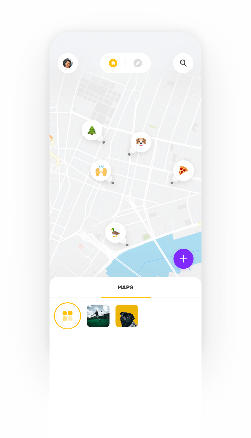 YouMap Slider 1 Phone